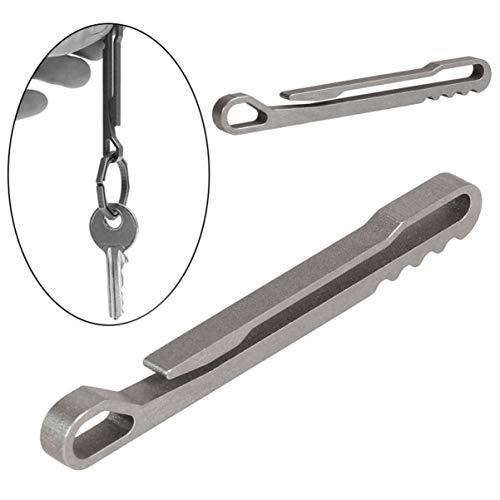WINOMO 2 Stücke Schlüsselanhänger Clip für EDC Multitool Schlüssel