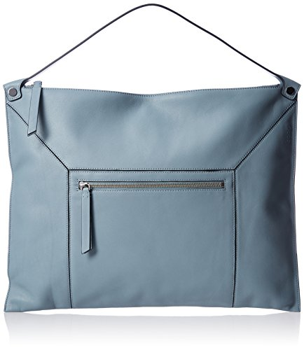ECCO - Sculptured Shoulder Bag 2, Shoppers y bolsos de hombro Mujer, Blau (Blue), 2x33x45 cm (B x H T)