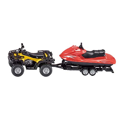 Siku # 2314 Quad with Trailer and Jet-ski