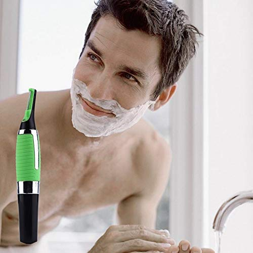 Micro Trimmer Built-in Light Multifunctional Hair Remover Personal Hair Ear Nose Neck Eyebrow Trimmer Razor for Men