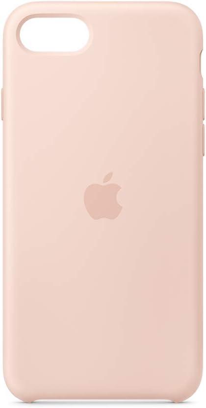Apple Coque en Silicone (pour iPhone Se) - Rose des sables: Amazon.fr