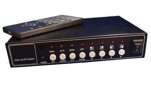 Evertech (CQ-208) Office Home Video Security Camera Cctv Color Quad Splitter Processor 8 Channel (8 Camera)