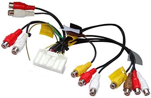AERZETIX: RCA-adapterkabel 32 PIN voor autoradio