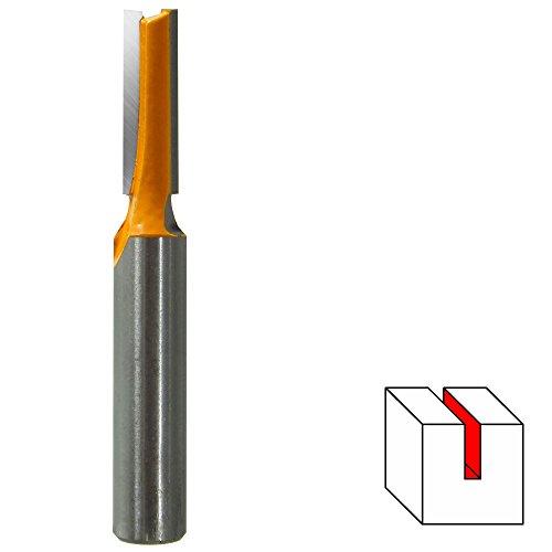 HM Nutfräser Ø 6 mm (zweischneidig) Schaft 8 mm Holzfräser Fräser Nuter Freser
