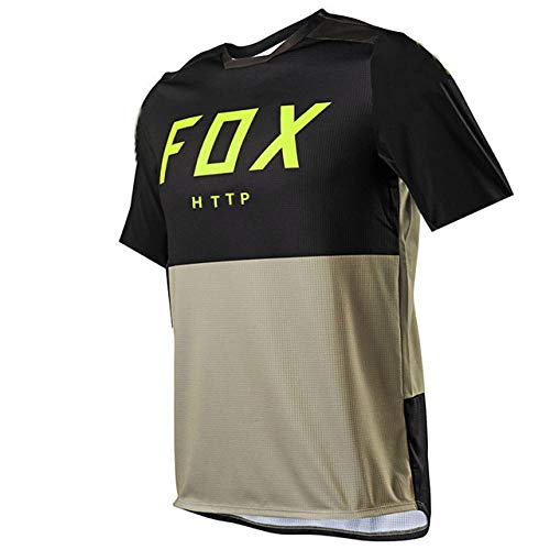 Maillot Ciclismo Hombre 2021 MTB Fox Motocross Jersey Downhill Tshirt Http Fox Shirt Cycling Mountain Bike Dh Quick Dry Jersey-3Xl
