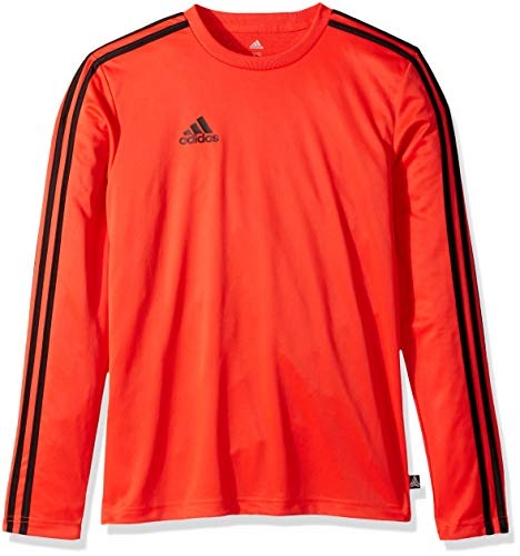 adidas Men's Soccer Tango Terry Long Sleeve Jersey, Hi-Res Red, Large