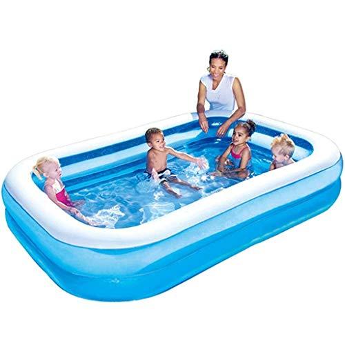 NXYJD Color Azul Inflable Bañera de plástico Plegable portátil bañera SPA Bañera Inicio bañera Inflable