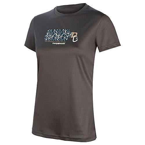 Trango Camiseta Morillo, Mujer, Sombra Oscura, S