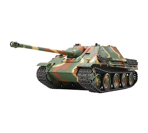 RC Auto kaufen Kettenfahrzeug Bild: TAMIYA 300056024 - Jagdpanther FullOptionKit, ferngesteuerter Panzer, 1:16, Elektromotor, Bausatz*