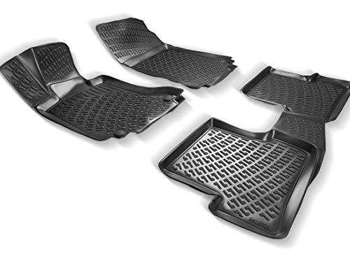 Elmasline Design 3D Gummimatten Set für OPEL Insignia A 2008-2017   Extra hoher 5cm Rand