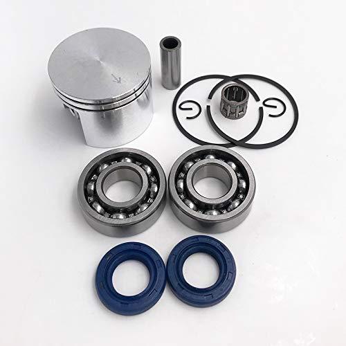 QFDM Durable crankshaft Teniendo 42,5 mm Pistón del Sello de Aceite del cigüeñal cojinete de bancada de Agujas Kit de Piezas de Repuesto for motosierras Easy to Install