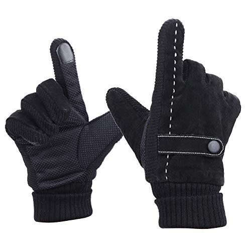 Heren Touch Screen Handschoenen Winter Thermal Ski Handschoenen Winddichte Snowproof Outdoor Handschoenen Warm Handschoenen Sport Motorfiets Racing Schaatsen Klimmen Rijhandschoenen