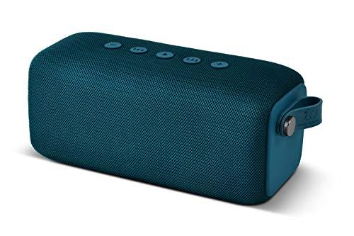 Fresh 'n Rebel ROCKBOX Bold M | Altavoz inalámbrico portátil con Bluetooth - Resistente al Agua IPX7 - Petrol Blue