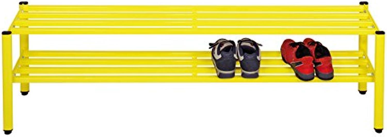 Vinco Vinco70464 Floor Rack for Low shoes, 100 cm, bluee, Multicolor