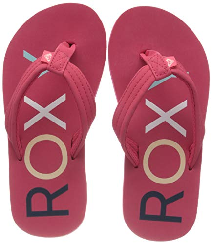 Roxy RG Vista, Zapatos Playa Piscina Niñas, Rosa