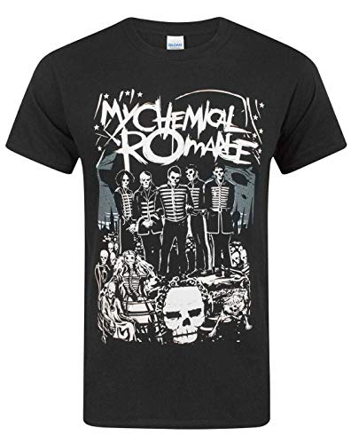 My Chemical Romance Unisex-Adult's Official Dead Parade T Shirt - Large, (Nero)