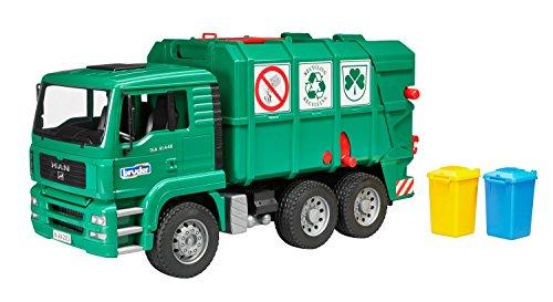 bruder 02753 Toys Man TGA Müll-Lastkraftwagen