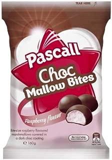 Pascall Raspberry Chocmallows 160gm x 10