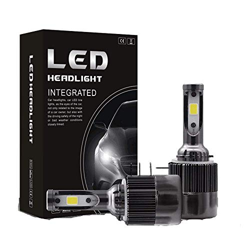 DJY-JY 3800Lm H15 LED faro lámpara Hi/Lo haz 36 W 6000 K impermeable llevó la linterna con Super brillante COB chips 2 unids coche luz