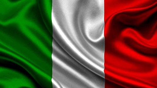 BANDIERA ITALIANA ITALIA ITALY CM 90 X 60