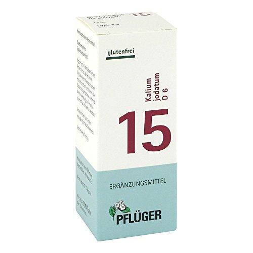 Pflüger Schüßler-Salze 15 Kalium jodatum D6, 100 St. Tabletten