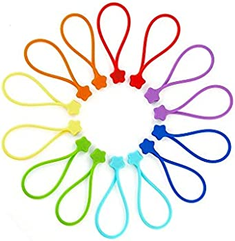 14-Pack Fironst Reusable Silicone Strong Magnetic Cable