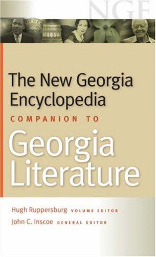 The New Georgia Encyclopedia Companion to Georgia Literature (English Edition)