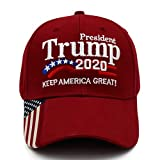NDLBS Trump 2020 Keep America Great President hat MAGA hat Campaign Embroidered Baseball Cap