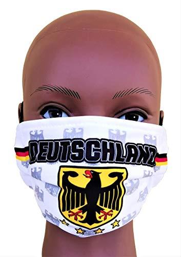Deutschland Maske, OP-Masken-Cover, oder einfach DIE MASKE FÜR DIE MASKE, Vermummungsmaske