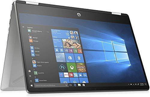 """HP-PC Pavilion x360 14-dh0041nl Convertibile, Intel Core i3-8145U, RAM 8 GB, SSD 256 GB, Grafica Intel UHD 620, Windows 10 Home, Schermo 14"""" FHD IPS, Fast-Charge, Lettore Micro SD, USB, HDMI, Argento"""