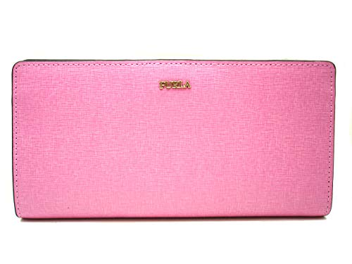 FURLA Geldbörse 922679 Portemonnaie Babylon XL Bifold Leder Rosa Pink orchidea, Größe ca.:18,5 x 9,5 x 2,5 cm (B x H X T)