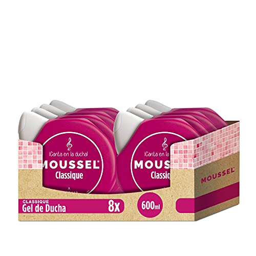 Moussel Gel de DuchaClassique Original 600ml -  Pack de 8