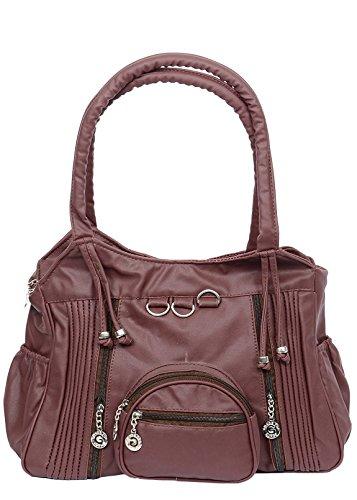 Tiptop Women's Handbag (Maroon ,Ckrk112)