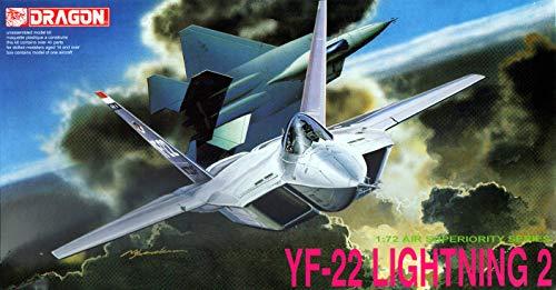 Dragon Models DR2508 YF-22 Lightning II, modèle de Guerre en Plastique à Monter, échelle 1/72