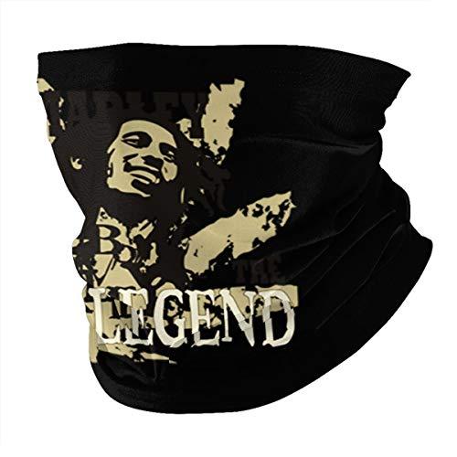Top Wholesale Marley The Legend Bob Multifunctional Face Cover Headwear Neck Scarf Bandana Balaclava Tube Gaiter Stretch Snood Headband