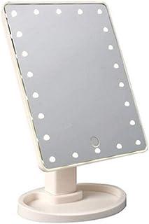 LLRYN LED Touch Screen 22 Light Makeup Mirror Desktop Make up 10X Magnifying Beauty Vanity Mirror Lighting Detachable/Stor...