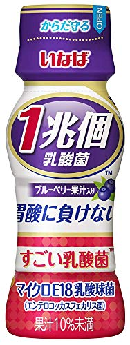 いなば食品 すごい乳酸菌 1兆個 ブルーベリー果汁入り 65ml ×60本