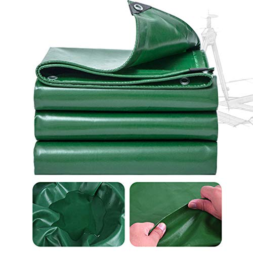 FFJD tarps heavy duty Waterproof Camping tarp with Drawstring for Ground Camping Hiking-2x3m