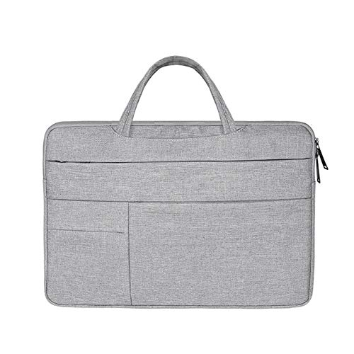 YYXJLG Bolsa de Ordenador,Laptop Sleeve Case Bag for Lenovo Yoga 520 530 510 ThinkPad T480s L480 E485 AMD E490s 14,Light Gray,All 11 Inch Laptop