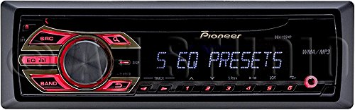 PIONEER Deh-155mp Cd Receiver with Mp3 Playback, Remote Control Included