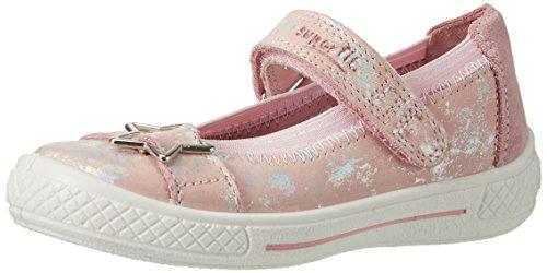 Superfit Tensy Mädchen Ballerinas, Pink (Lolly Kombi 61), 25 EU