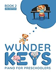 Kids Piano Lessons Birmingham - WunderKeys For Preschools Book 2