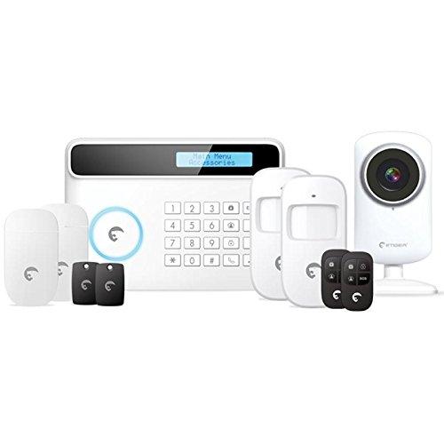 eTIGER 21197552 Combo Vid Secual draadloos beveiligingssysteem met zender GSM/PSTN incl. HD-camera voor iOS/Android