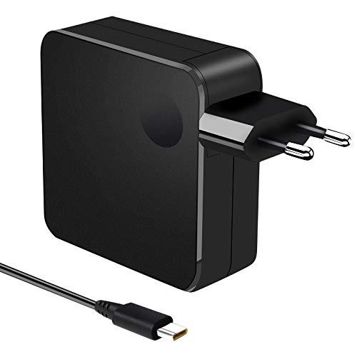 SZZXS Cargador de corriente 65W Adaptador USB C para computadora portátil Cargador universal para Macbook Pro ASUS Lenovo ThinkPad Yoga Libro de visitas Samsung Google Chromebook Huawei Xiaomi Air