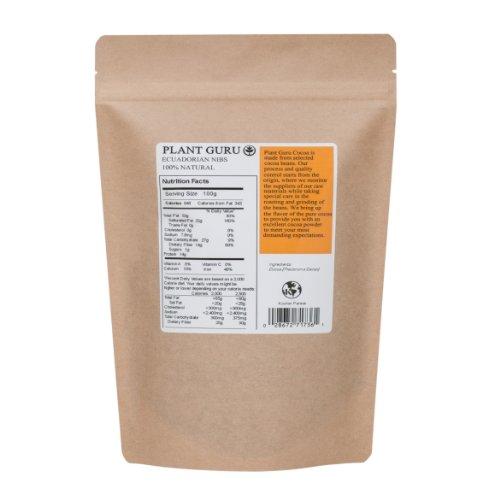 "Premium Raw Cacao Nibs - 16oz/1 Pound ""Guaranteed Highest Quality"""