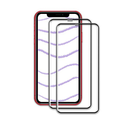 ZOLMAG Phone 11 Screen Protector, [2 Pack] HD Clear for Phone 11 Tempered Glass Screen Protector, Bubble Free, Anti-Fingerprint, Crystal Clear 9H Hardness Protector Film