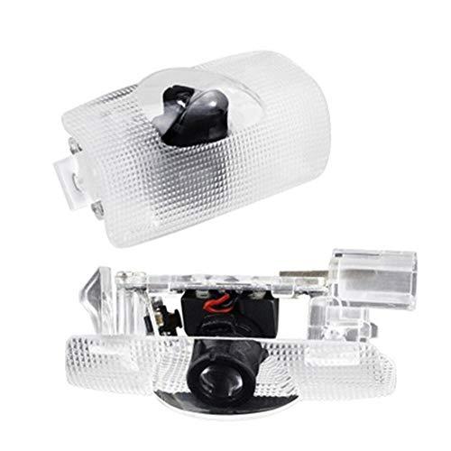 YUSHAOLI YSL 2 Stück LED Autotür Projektion Willkommen Logo Licht für Lexus RX300 IS250 350 330 RX450h GX470 460 IS200 350 300 ES300h ES250 LS46 Hot In Now (Farbe: Elfenbein, Farbtemperatur: 4500 K)