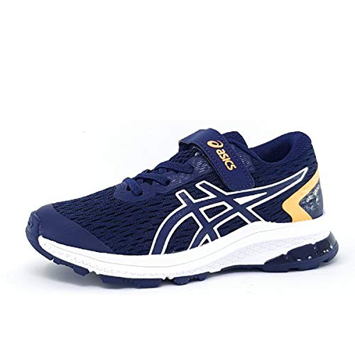 ASICS Unisex-Child 1014A151-001_32,5 Running Shoes, Navy, 32.5 EU