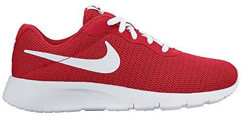 Nike Unisex-Kinder Tanjun (GS) Boys Shoe Low-Top, Rot (600 University RED/White), 38 EU