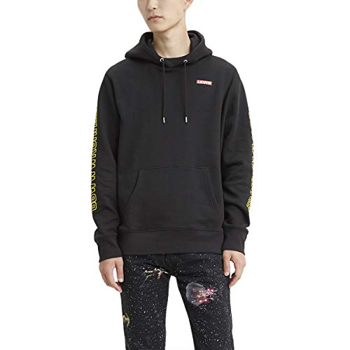 Levi's Star Wars X Levis. Graphic Hoodie Sudadera con capucha para Hombre, color Chewbacca Black, CH